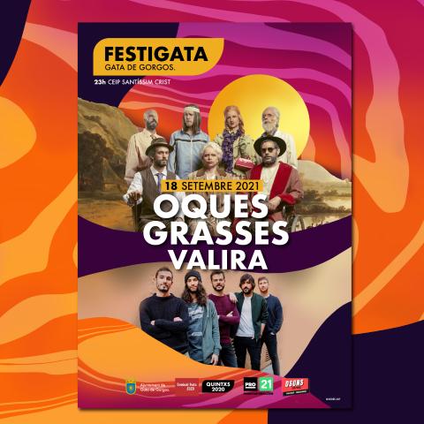 OQUES GRASSES Y VALIRA en el FESTIGATA 2021
