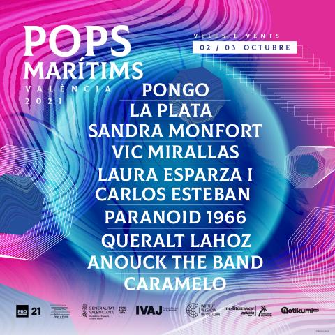 Pops Marítims anuncia cartel para su edición 2021