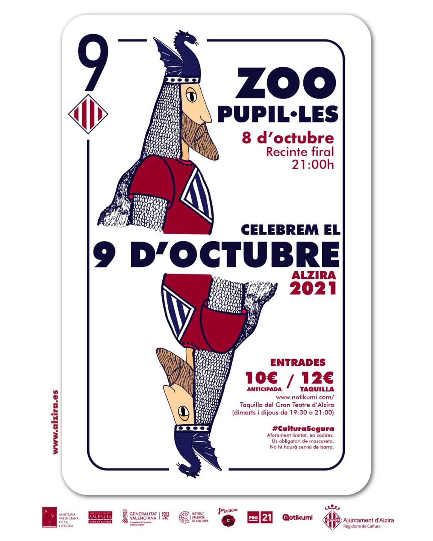 Celebrem el 9 d'octubre: ZOO + PUPIL·LES